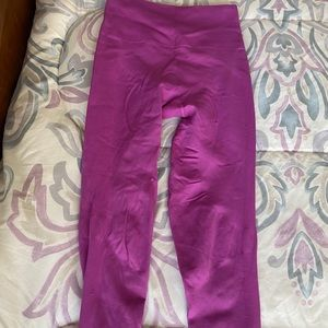 Lululemon Pink Zone-In Yoga tights